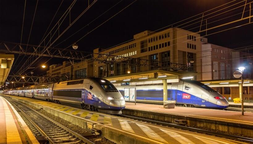 Połączenia kolejowe we Francji