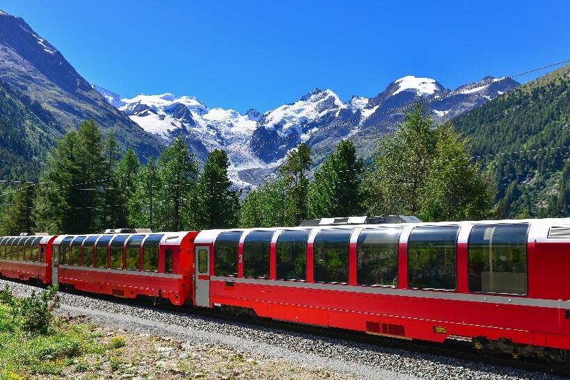 Bernina Express - bilet na pociąg