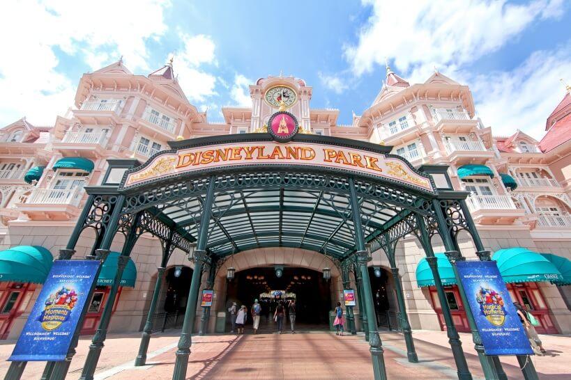 Pociąg do Disneylandu