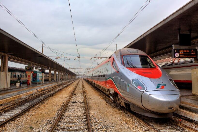Frecciabianca - zwiedzanie Włoch pociągiem