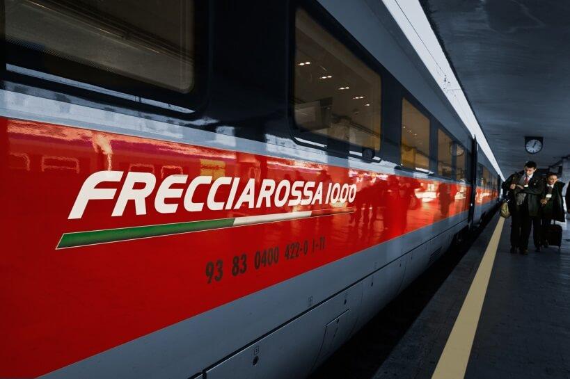 Frecciarossa - zwiedzanie Włoch pociągiem