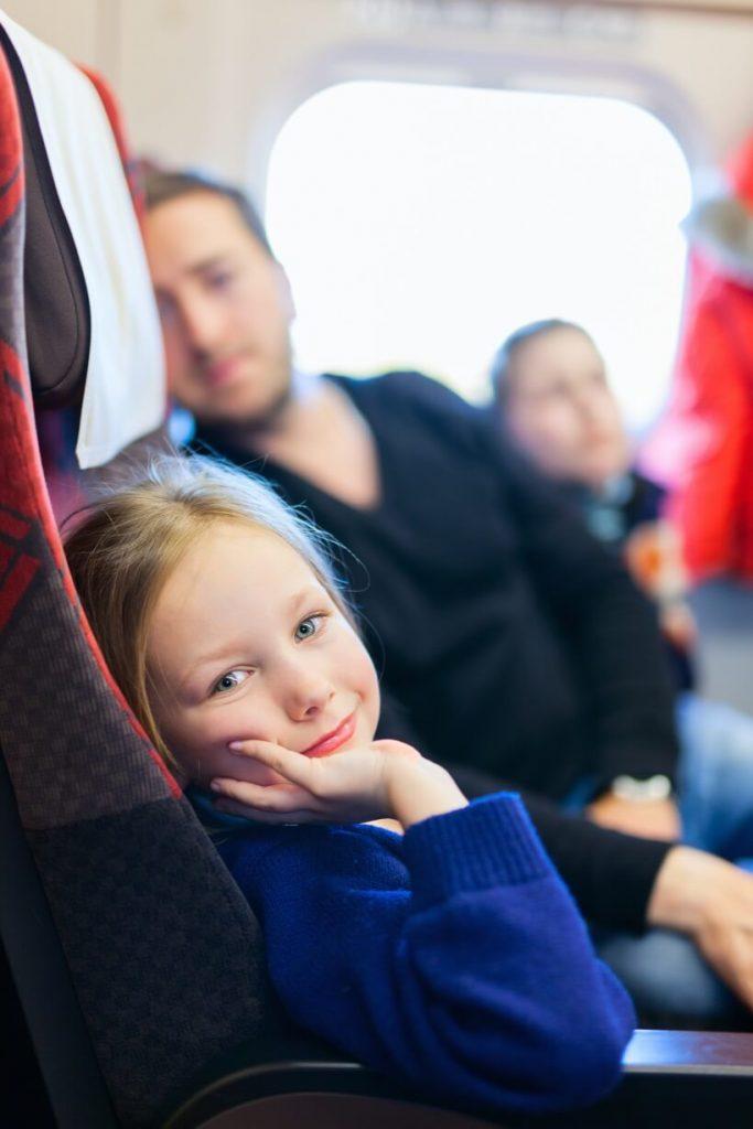 Podróż pociągiem z dziećmi