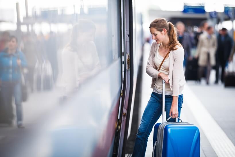 Przewóz bagażu pociągiem