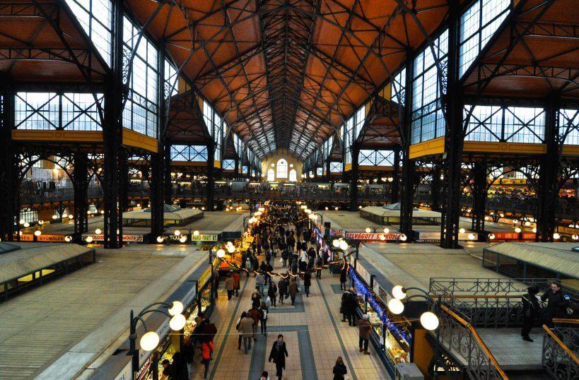 Pociągiem do Budapesztu - Vásárcsarnok