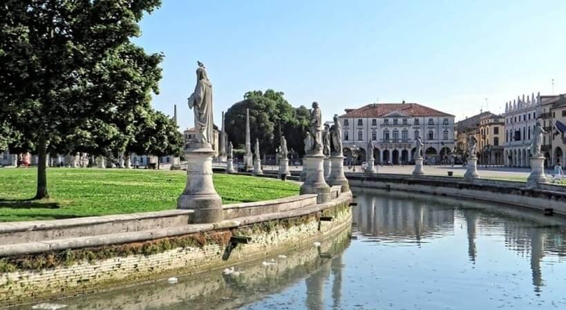 Prato della Valle - bilety kolejowe online