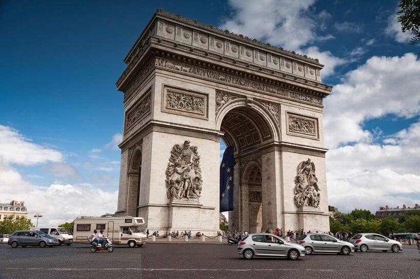 Paryż pociągiem Eurostar
