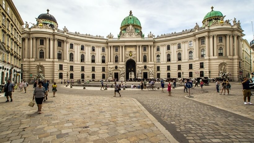 Pociągiem do Wiednia - Hofburg