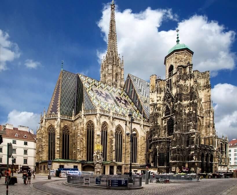 Pociągiem do Wiednia - Katedra św. Szczepana