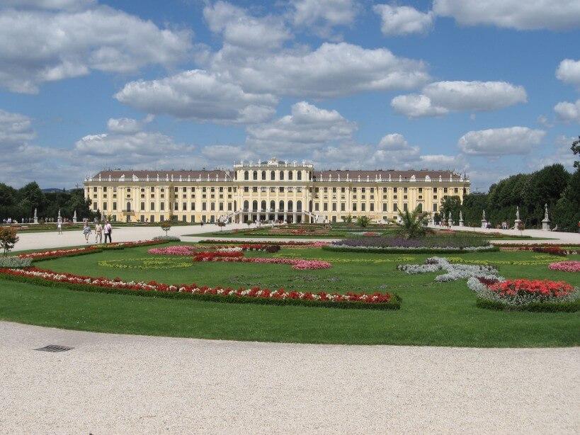 Pociągiem do Wiednia - Schönbrunn