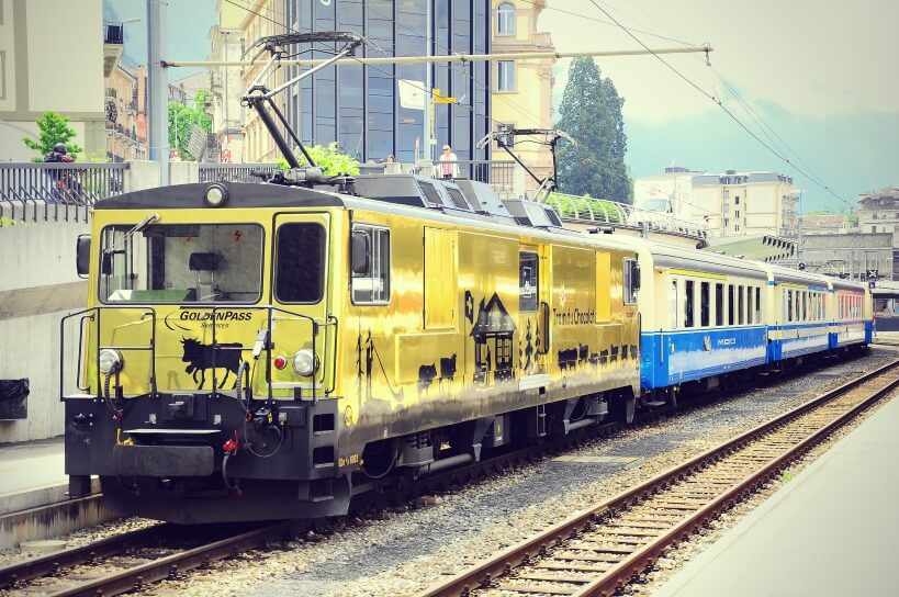Train du Chocolat - zwiedzanie Szwajcarii koleją
