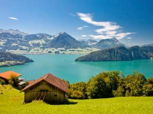 Wilhelm Tell Express - szwajcarska kolej panoramiczna