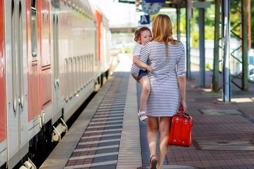 Train tickets for children