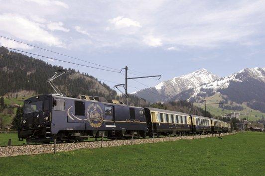 Швейцария поезд