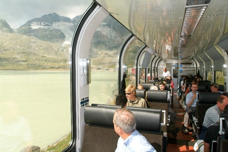 Bernina Express - train tickets