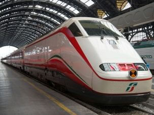 скорые поезда в Италии