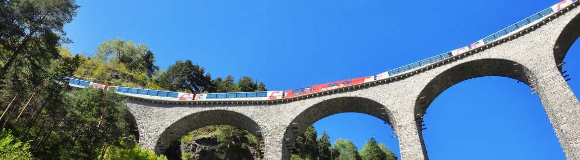 The Swiss panoramic railway - Glacier Express