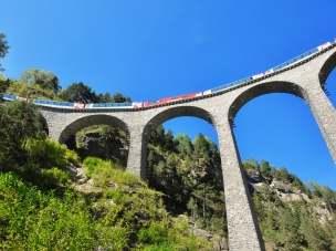 Glacier Express - на поезде по Европе