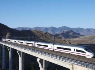 на поезде по Испании