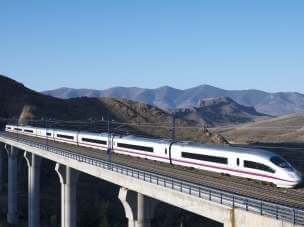 Spain - railway trip