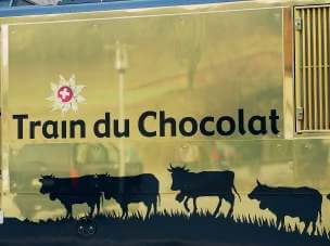 The chocolate train