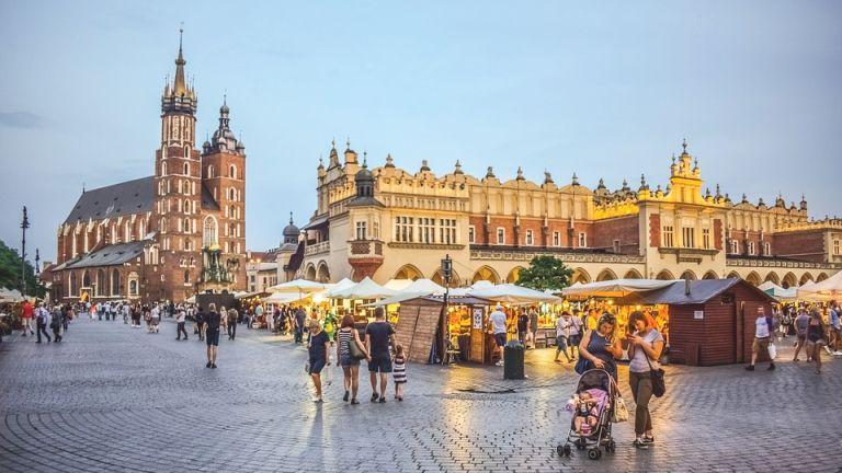Train to Krakow