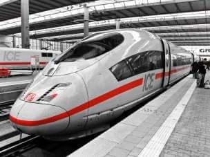Скоростные поезда в Германии