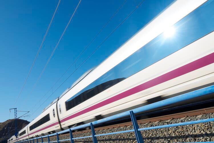 AVE - испанская скоростная железная дорога